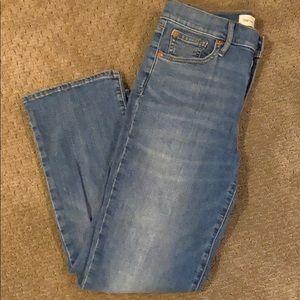 Gap 1969 Crop Flare High Rise Jeans